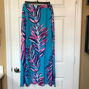 Lilly Pulitzer maxi skirt